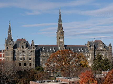 Healy Hall, Georgetown University,Washington, D.C.