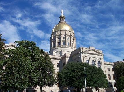 Georgia State Capitol in Atlanta, GA