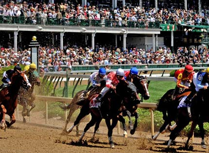The Kentucky Derby is held in Louisville, KY