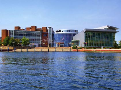 Maryland Science Center at Baltimore's Inner Harbor