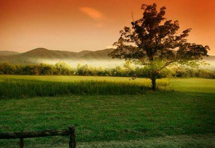 Cades Cove in Tennessee