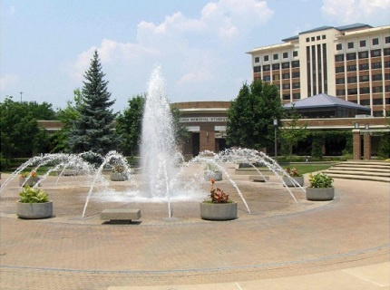 Indiana State University, Dede Plaza, Terre Haute, IN