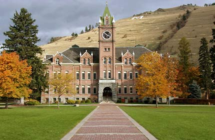 University of Montana in Missoula, MT